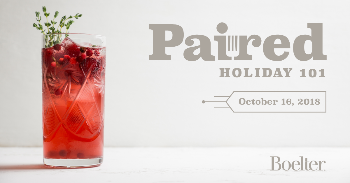 Paired Holiday 101